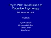 psych 240 - lecture 1