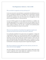 harborco negotiation Harborco full materials for the scenario are available from the harvard law school program on negotiation clearinghouse the following abstract is taken from this website.
