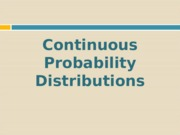 Continuous Probability Distribution-v2 engstat.ppt