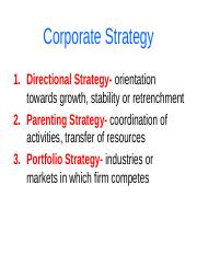 Corporate Strategy-4