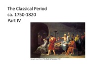 HUMA1102.Week_7.Classical_Period_IV