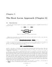 Chapter5 The Root Locus Approach