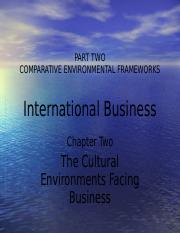 International-Business--Chapter-2-(The-Cultural-Environments-Facing-Business)