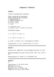 Solution (Assignment-3)