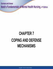 Ch07 Gorman And Anwar Neebs Fundamentals Of Mental Health