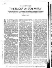 POL S 203-10 Cassidy - Return of Marx
