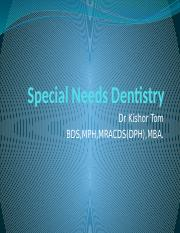 SPECIAL NEED DENTISTRY.pptx