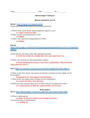 Human_Impact_Webquest .pdf - Name Date Class Human Impact ...