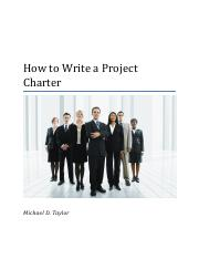 How_to_Write_a_Project_Charter