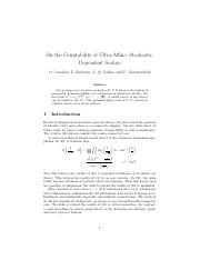 On the Countability of Ultra-Affine, Stochastic,.pdf