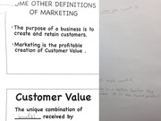 Customer Value and Utilities
