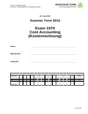 2015_Exam_Cost Accountig
