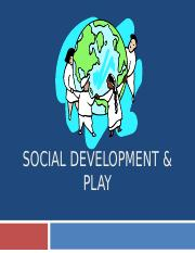 Social Development & Play Spring 2016 Canvas.ppt