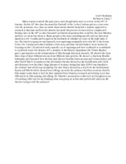 Hist2900 reflection essay 1
