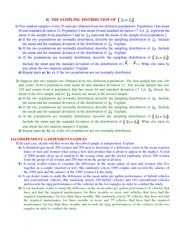 Study Guide on Two Par Confidence Intervals