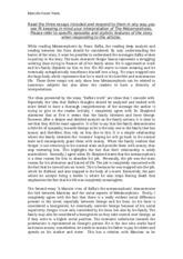 dissertation kafka m�tamorphose