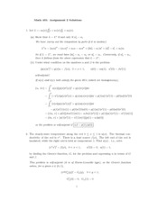 MATH 401 Homework 2 Solution