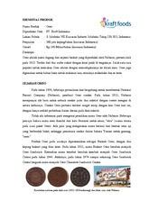 138641757 Tugas Oreo Idenditas Produk Nama Produk Oreo