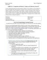English 101 CoreSyllabus-2013