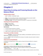Accounting 2013 Chapter 2