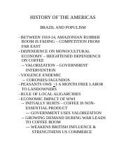 Brazil and Populism.doc