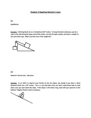 chapter 5 bottom neglect friction and air resistance please read the part about apparent. Black Bedroom Furniture Sets. Home Design Ideas