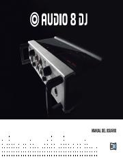 Audio 8 DJ Manual Spanish