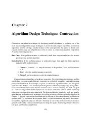 7 Algorithm Design Technique_Contraction