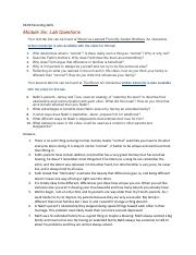 parenting skills module 8 dba