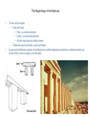Prehistoric and Mesopotamian Architecture