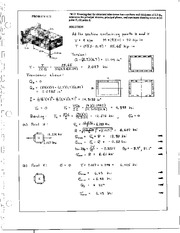 985_Mechanics Homework Mechanics of Materials Solution