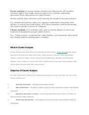 CLUSTER AND FACTOR.docx