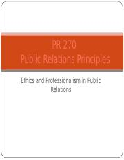 Ethics PR 270 Chapters 3-1.ppt