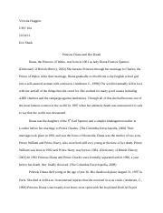 Princess Diana Mandy's descriptive essay .docx