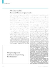 Four Social Theories for Global Health