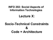 INFO202-S15-Lecture10-Architecture-SocProcesses+Law