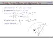 71. Potential Energy of a Charged Particle in a Coulomb Field