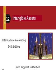 Meet 7 (Intangible Assets &   Impairments of Assets)