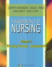 Nursing Process Chapters 3-7