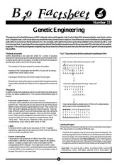 013 - Genetic Engineering