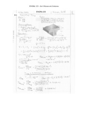 ENGR 225 Set 8 Solutions