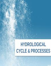 Hydrological Cycle and Procesess.ppt
