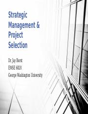 Strategic Management & Project Selection.pptx