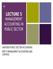 Lecture_5_-_Management_Accounting_in_Public_Sector