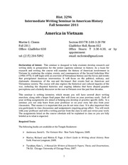 Hist. 3296 Section 003 Syllabus_America in Vietnam_Clemis
