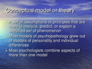Models of psychopathology slides