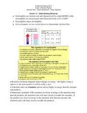 sp15 exam 1 review Exam 1 study guide for math 12 how to study for the test: • study the lecture notes • make sure you are comfortable with the homework problems.