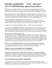 how to write an apa style lab report psyy introduction to  2 pages lab report get started 2014 5