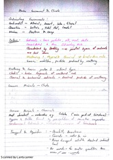 Environments Marine Environments and Climate Lecture Notes