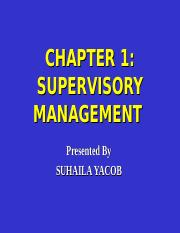 CHAPTER 1 SUPERVISORY MANAGEMENT  10 MARCH 2014(1).ppt